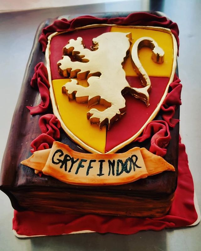 Harry Potter book cake number 2