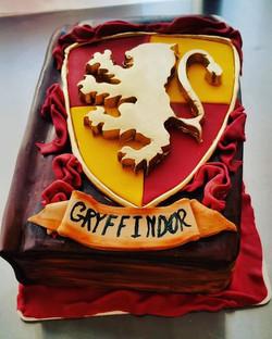 Harry Potter book cake number 2