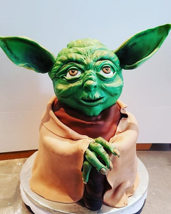 May the 4th be with you!!!_#yodacake #st