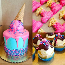 #CakesFromWayBackWhen _Ice cream party c