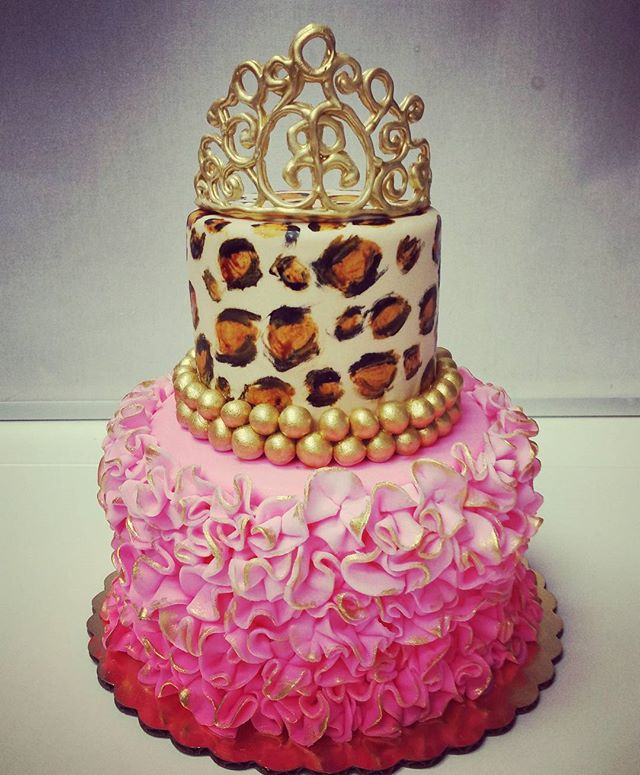 Princess cake with a fierce edge