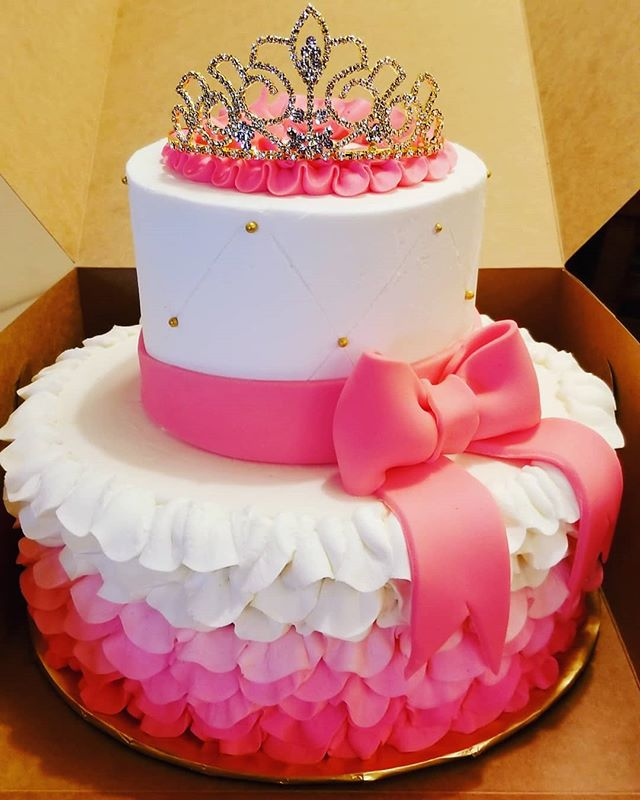 Birthday cake for a princess, all butter