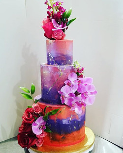 Custom anniversary cake, original design