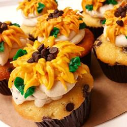 Introducing_ _Van Gogh Cookie Dough__Chocolate chip cupcakes with chocolate chip cookie dough frosti