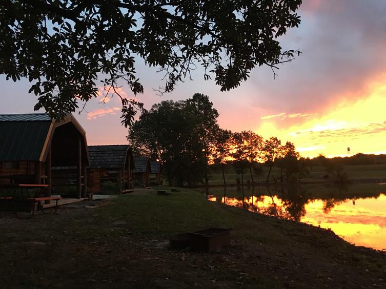 Campground Fishing Pond