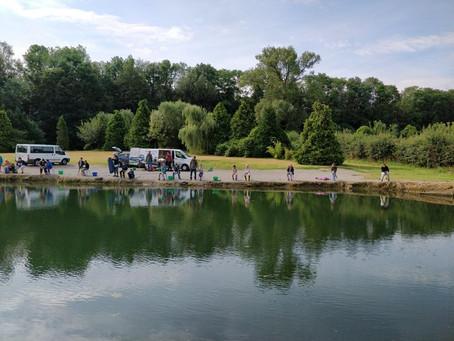 Stage Ecole de pêche de Wallonie
