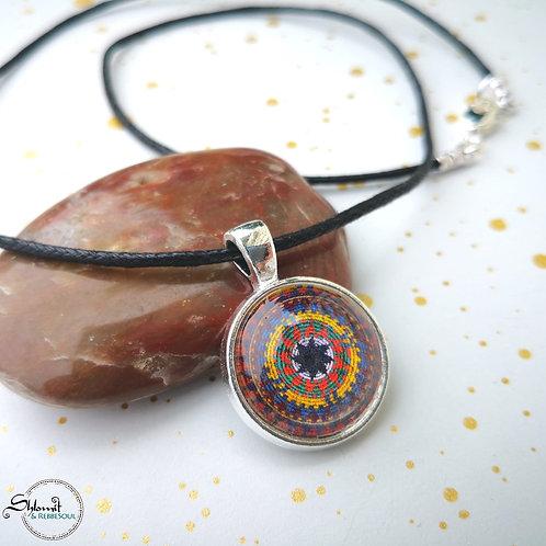 Yemenite Basket Pendant Necklace