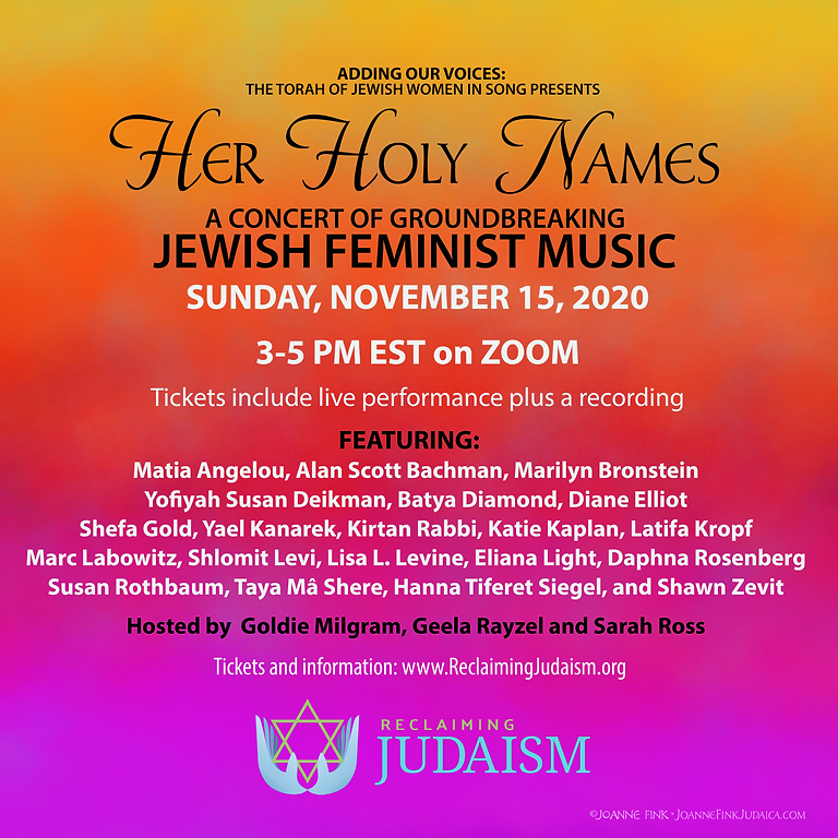 Her Holy Names Concert
