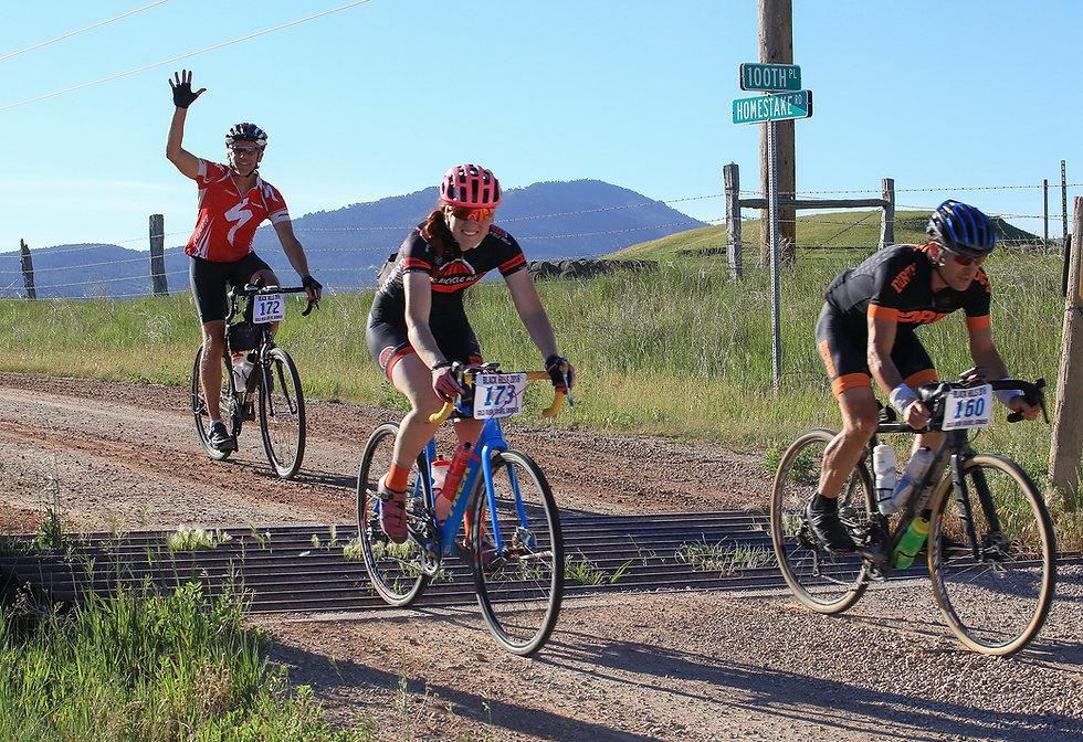 Gravel road bike races