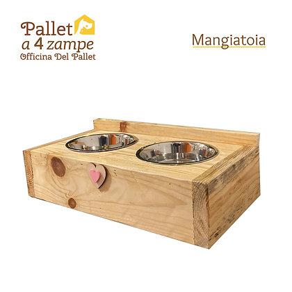 Mangiatoia di Pallet (taglia GRANDE)