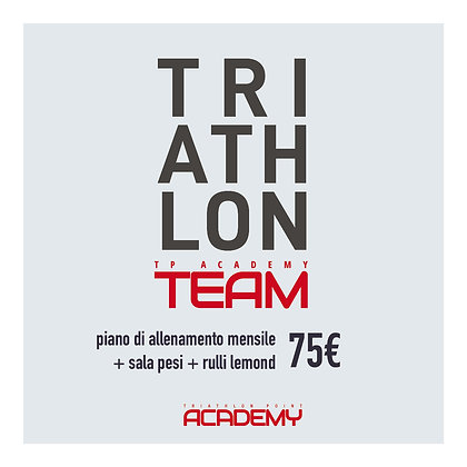 Triathlon programmazione mensile