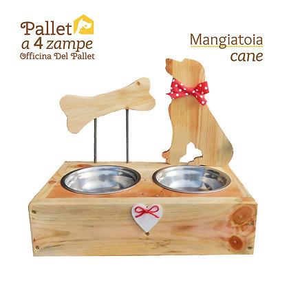 Copia di Mangiatoia cane e osso PICCOLA