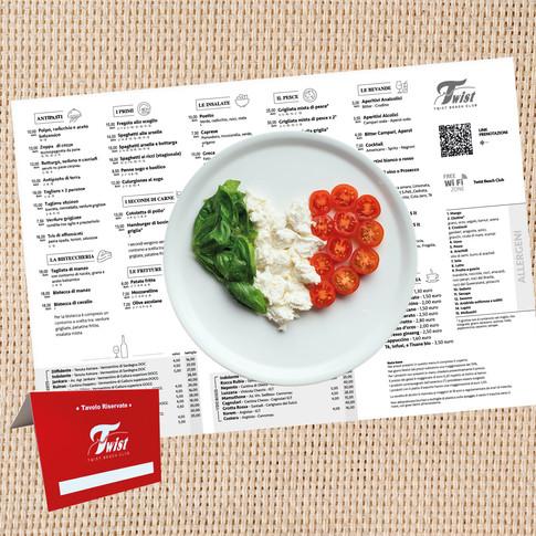 stampa tovagliette ristoranti