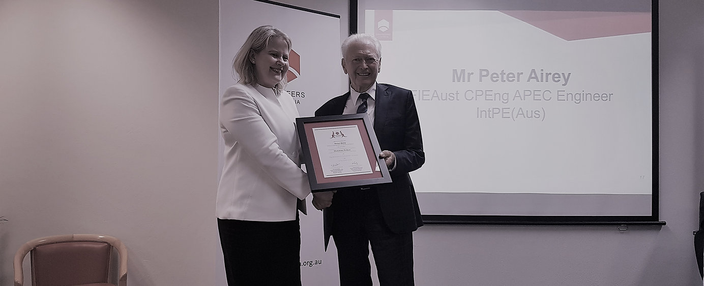 Peter receives Honorary Fellow Award.jpg