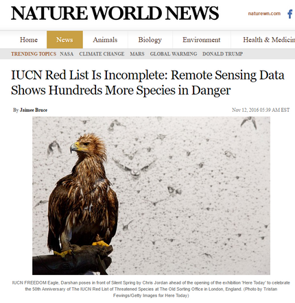 Nature World News coverage of our Science Advances paper