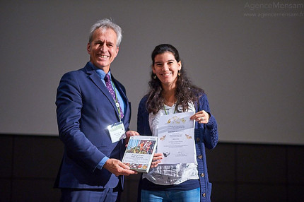 Merian Award for best oral presentation - GTO 2018