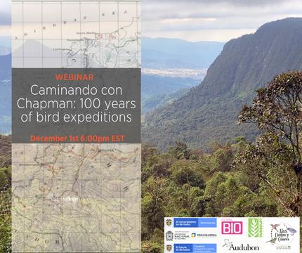"""US-launch webinar """"Expediciones BIO Alas, cantos y colores"""""""
