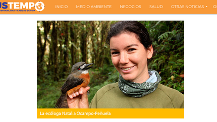 Interview for Chilean website Sustempo about palm oil
