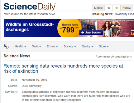 Science Daily coverage of our Science Advances paper