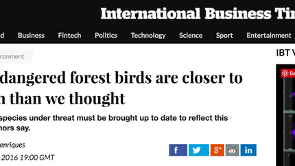 International Business Insider covers our Science Advances paper