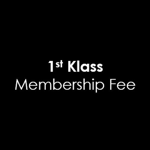 1st Klass Membership Fee