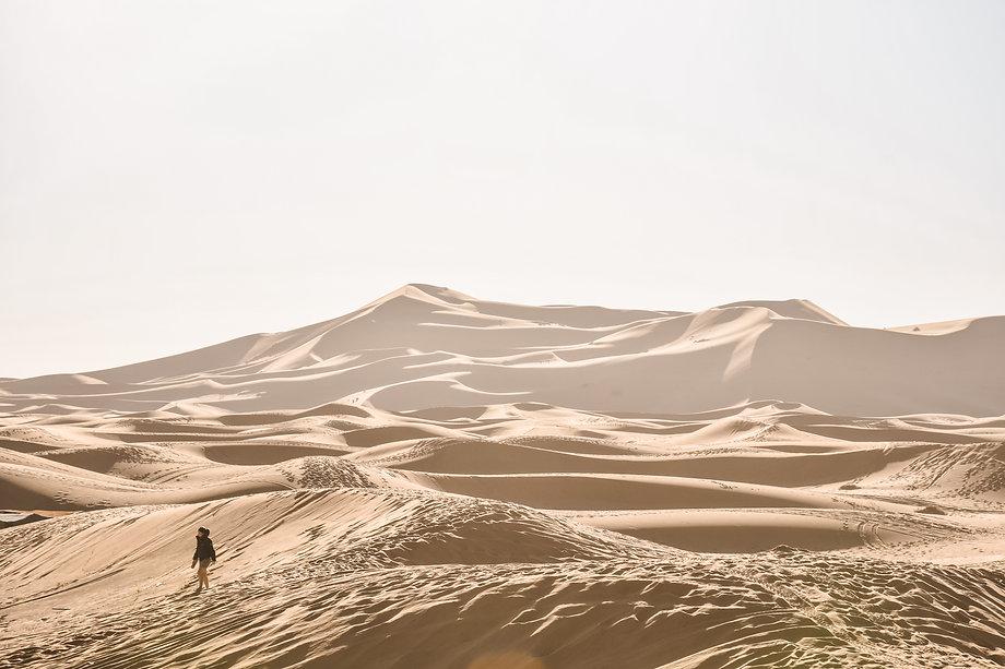 Jean-Baptiste Nore - Bio : dune de merzouga, maroc, biographie
