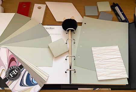 Prestation, préparation, architecture, décoration intérieure, stéphanie rainaut, bleu rêve