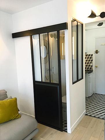 Stéphanie Rainaut - Agence d'architecture intérieure et décoration : Projet Monceau, rénovation de 11m2, Paris 8ème 2018