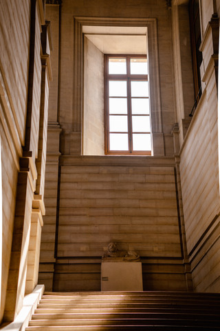 Escalier du Louvre