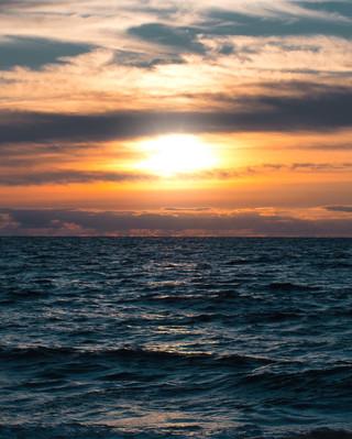 Sunset à Biaritz