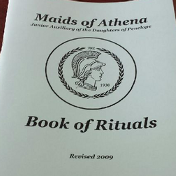 Maids of Athena Book of Rituals