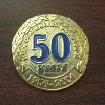 50th Anniversary Pin - Gold