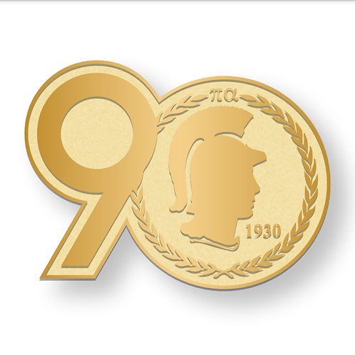 90th Anniversary Pin