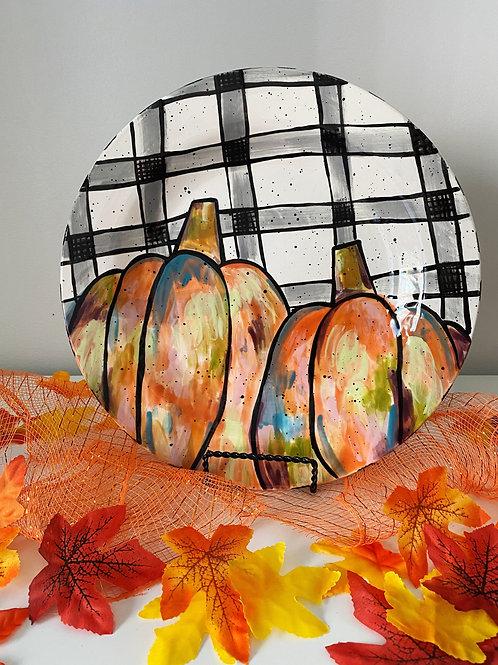 'Pumpkin Plaid' Project