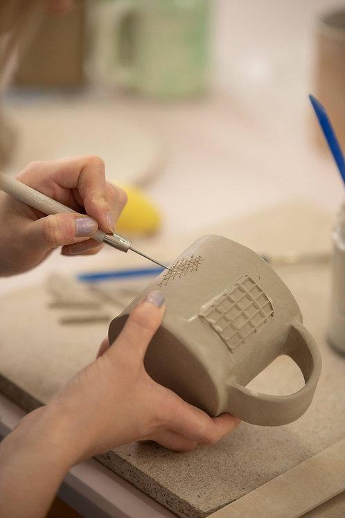 Group Hand-building BYOB 'Make a Mug' Session