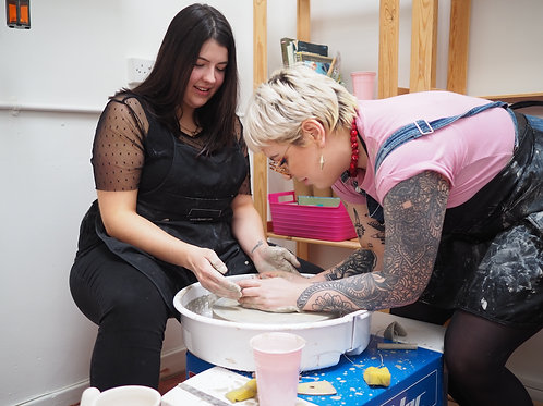 Pottery Wheel Lesson for 1