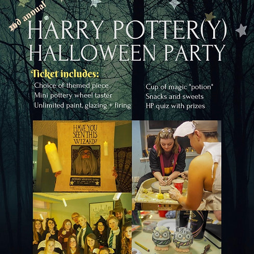 Harry Potter(y) Halloween Party