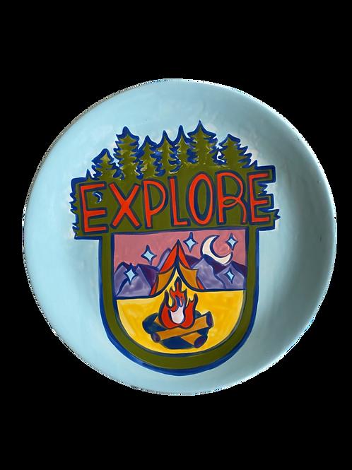 'Explore Badge' Project