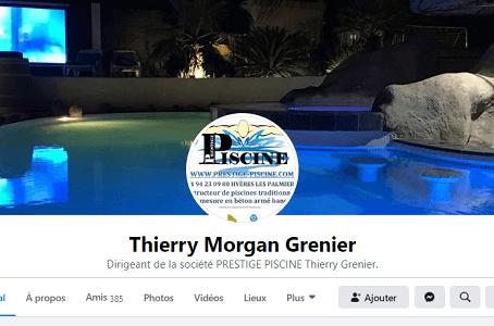Suivez Prestige Piscine sur Facebook