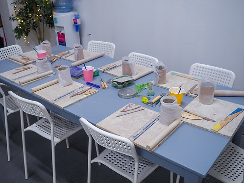 Table Fee for Private, Hand-building Party