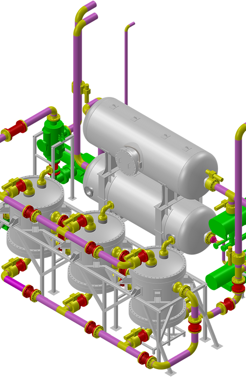 Thermosolv is currently constructing a 1 ton/day low-cost oxygen pilot-plant in Laramie.