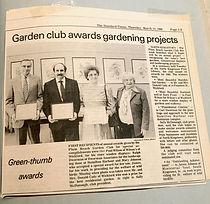1986 Green Thumb Awards.JPG