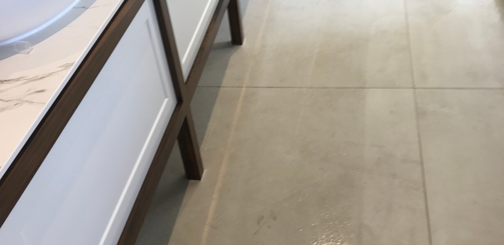 Tile Cleaning in Bathroom