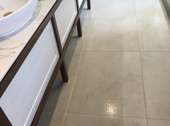 Tile Cleaning in Bathroom