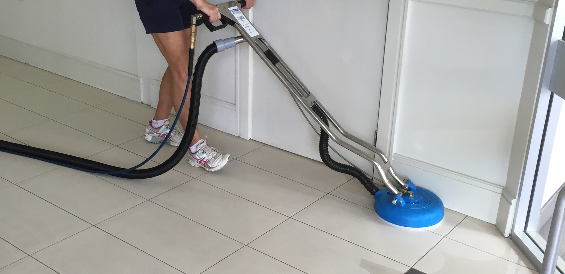 Steam Cleaning Tiles