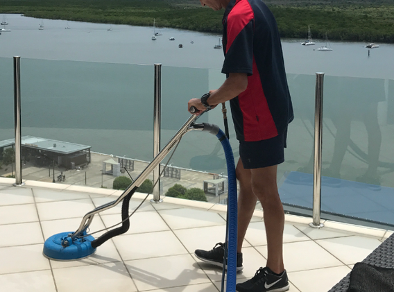Jason Steam Cleaning Tiles