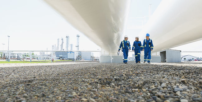 Walking Under Gas Pipes