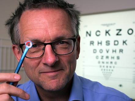 """The eyeWatch technology featured on BBC's program """"Trust Me, I'm a Doctor"""""""
