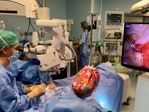 Two eyeWatch surgeries successfully performed in Hospital Clinico San Carlos, Madrid, Spain
