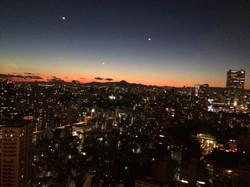 Mt Fuji at Night by Meguml Sobue